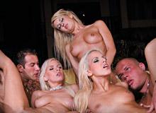 Alexis, Jessica Girl, Nicky Angel and Boroka Balls