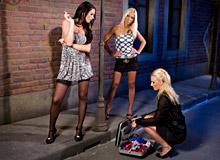 Antonia, Blondcat and Adeles