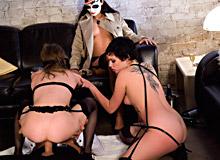 Eileen, Silvia Rubi and Anna Kinky