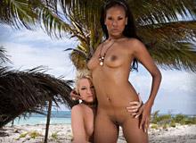 Kisha Kane and Leigh Logan