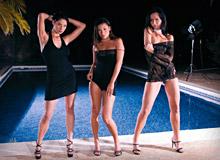 Lara Stevens, Susie Diamond and Vanessa May