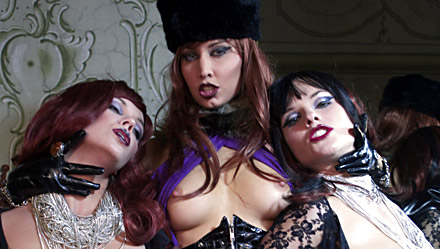 Lucy Love, Ellen Saint and Julie Silver