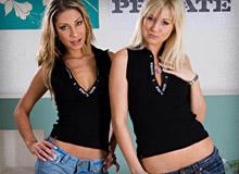 Rachel Evans and Sarah Blue