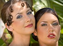 Veronica Da Souze and Thalia