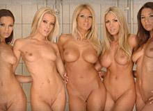 Zafira, Eve Angel, ClaraG and Friends