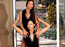 Suzie Diamond And Claudia Rossi