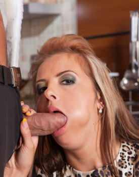 Candy Alexa Has a Cocktail and Cock in Her Tail-5