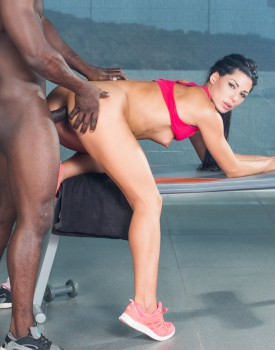 Alexa Tomas' First Interracial Anal ends with and Anal Creampie-4