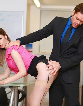 Busty Office Slut Stella Cox Gets Nailed by Her Boss-1
