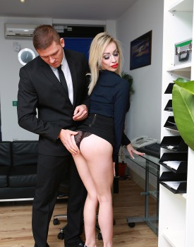 Busty Blonde Milf Chessie Kay Gets Nailed in the Office-2
