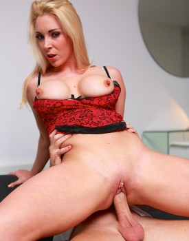 Office Boss Victoria Summers Rides Her Employees Big Dick-7