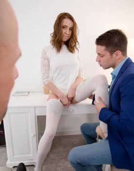 Horny Teen Debuts with DP-1
