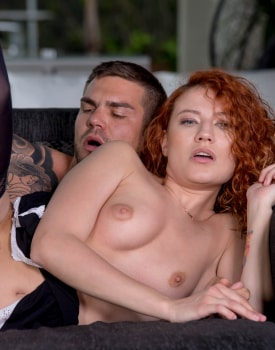 Stasy Riviera, the redhead maid hungry for cum-8