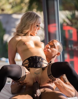 MILF Amber Deen Has First Interracial Experience-9