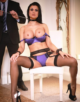 Fetish Superstar Jasmine Jae Pleasured by Stiff Cock-1