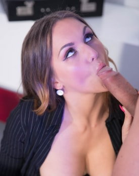 Secretary Barbara Bieber Puts the Squeeze on Her Boss-1