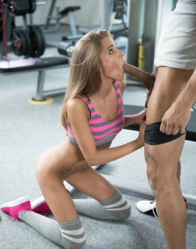 Sarah Kay Has an Anal Creampie in the GYM-1