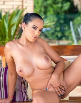 Katrina Moreno, huge tits latina fucked on the terrace-2