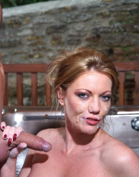 Busty Blonde Milf Holly Kiss Gets Wet & Wild in a Jacuzzi-11