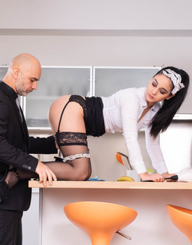Horny Maid Eager to Impress-2