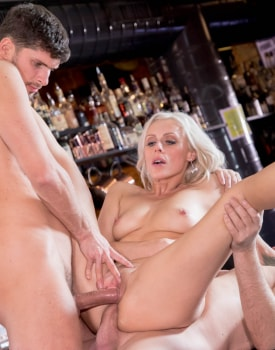 Brittany Bardott, Horny Milf Rides a Threesome with Anal and DP-9