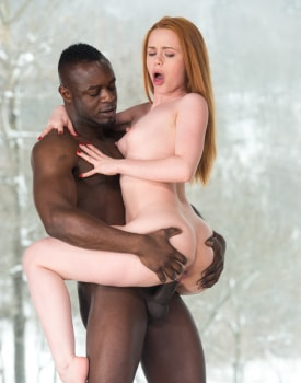 Ella Hugues Prefers Interracial Action To Skiing-8