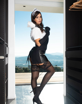 Susy Gala, the Naughty Maid-0