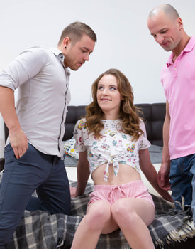 Emma Fantazy Debuts with Anal Threesome -1