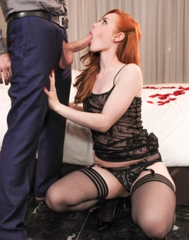 Ella Hughes celebrates her engagement with a vaginal creampie-6