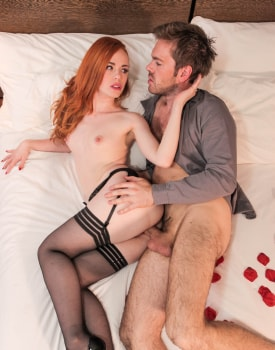 Ella Hughes celebrates her engagement with a vaginal creampie-9