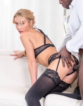 Katrin Tequila wears lingerie during interracial anal-6