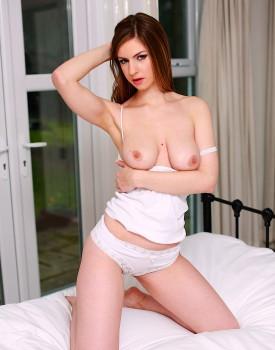 Stella Cox Drains a Heavy Cumshot All Over Her Big Tits-1