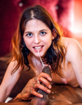 Rachel Adjani takes a facial cumshot after interracial anal-11