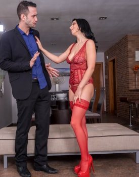 Nelly Kent, brunette addicted to lingerie and anal debuts for Private-3