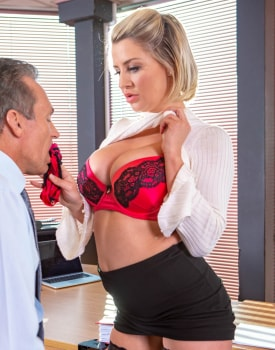 Sienna Day fucks her boss in the office-5