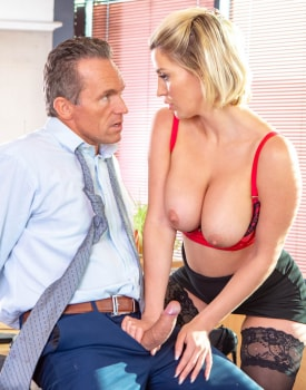 Sienna Day fucks her boss in the office-6