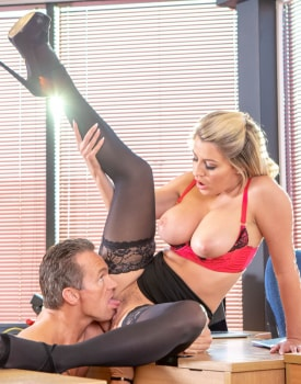 Sienna Day fucks her boss in the office-10