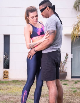 Verona Sky, the personal trainer enjoys interracial anal -3