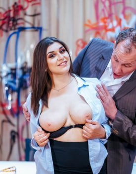 Curvaceous July Johnson debuts as horny receptionist-3