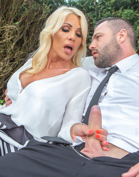 Tiffany Rousso, the MILF and the Waiter-5