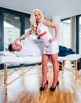 Barbie Sins, a nurse who loves lingerie and facials-2