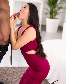 The Asian Katana in her first interracial-2