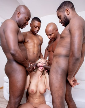 Nathaly Cherie loves interracial gangbangs-6