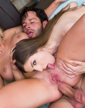 Milf Sienna Day has an Ass Orgasm During 3way With Stella Cox-10