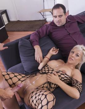 Milf Nikyta Enjoys Hard Anal While Her Husband Watches-11
