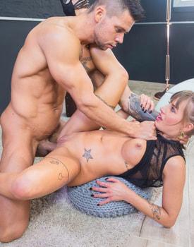Silvia Dellai Enjoys Domination in Hardcore Fuck-8