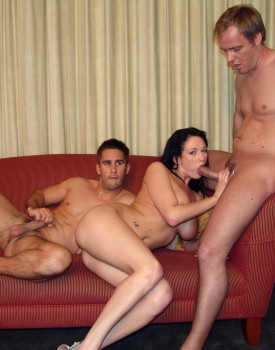 Donna Marie Takes a Massive Facial after Some Hardcore DP Action-4