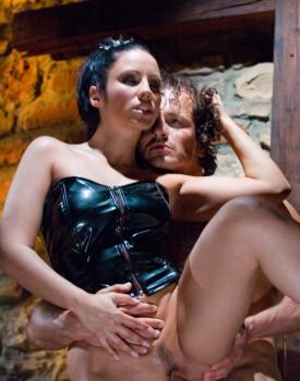 Katarina Treats her Sexual Prisoner to Some Hardcore Anal-10
