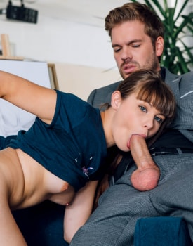 Luna Rival enrolls in our art school and gives anal-3