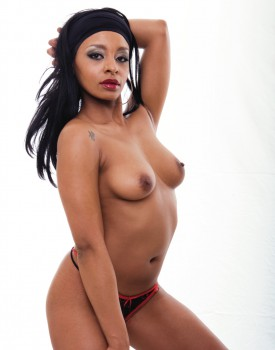 Ebony Hooker Lala Sucks and Fucks Like a Pro-5